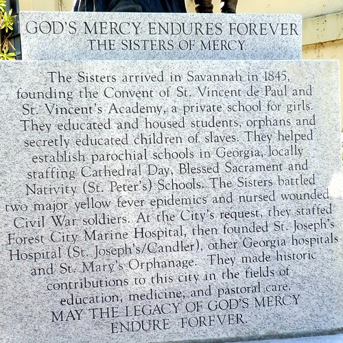 st vincent plaque
