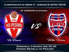 Vis Pesaro - Virtus Verona 0-0 FINALE