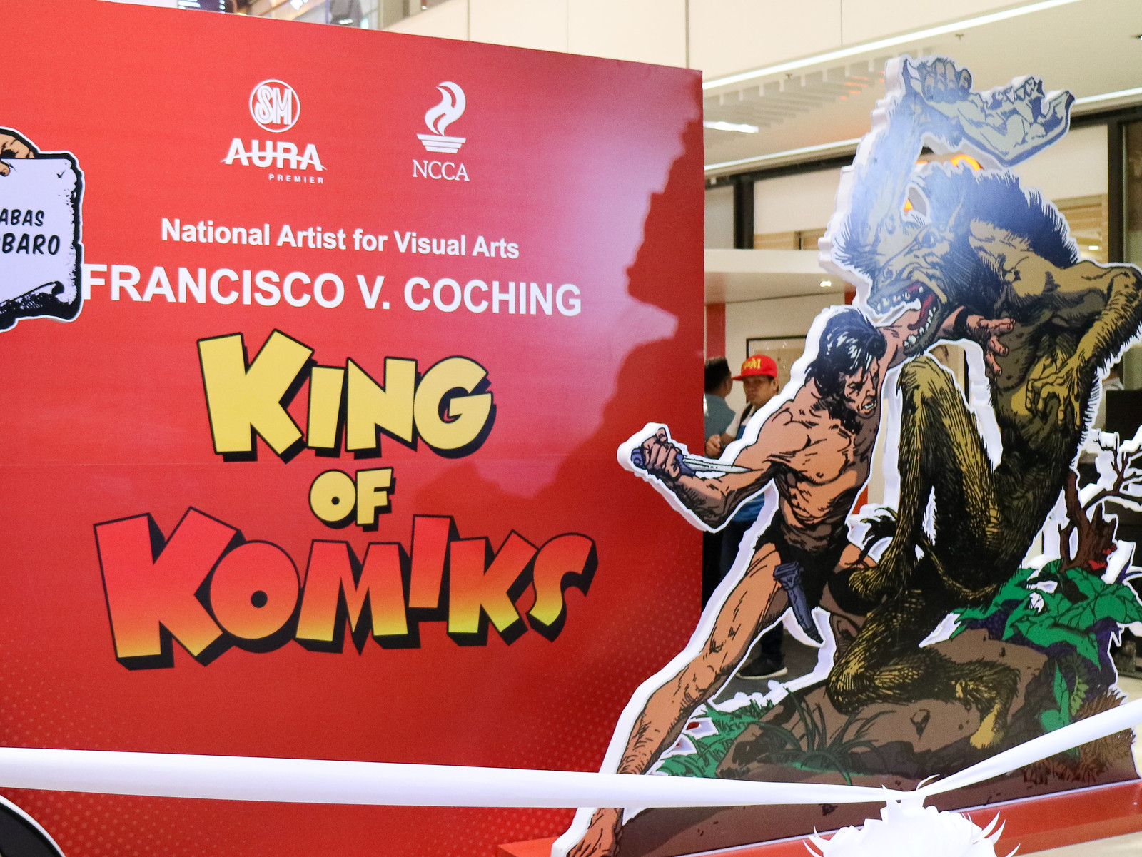 King of Komiks Francisco V. Coching Exhibit is now open at SM Aura