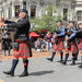 The Canterbury Caledonian Pipe Band NZ, Octagonal Day, The Royal New Zealand Pipe Bands's Association, The Octagon, Dunedin, New Zealand, 1.44 PM Sat. 16th Feb. 2019