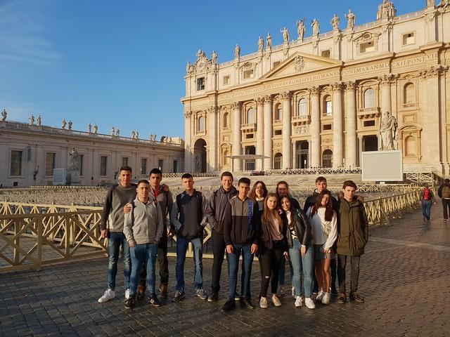 Viaje Fin de Curso Roma - 2019