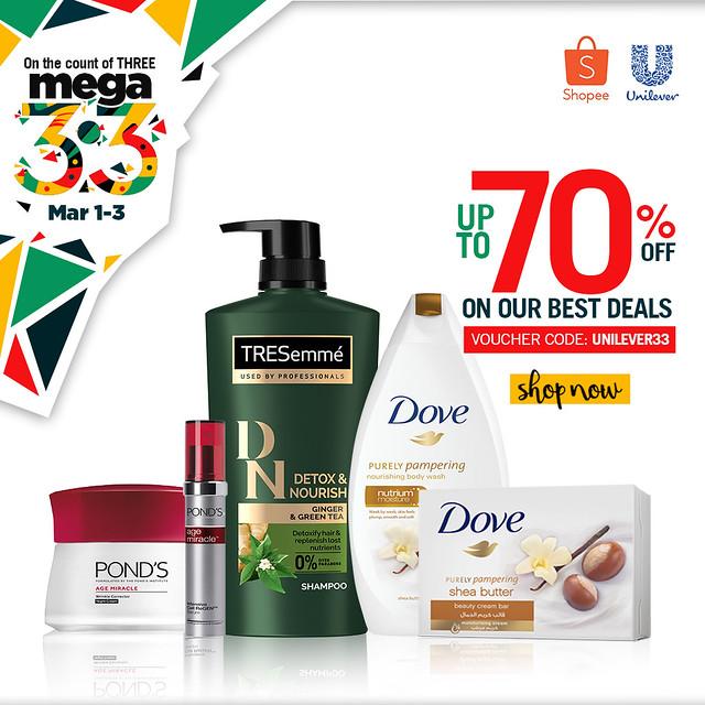 Shopee x Unilever 3.3