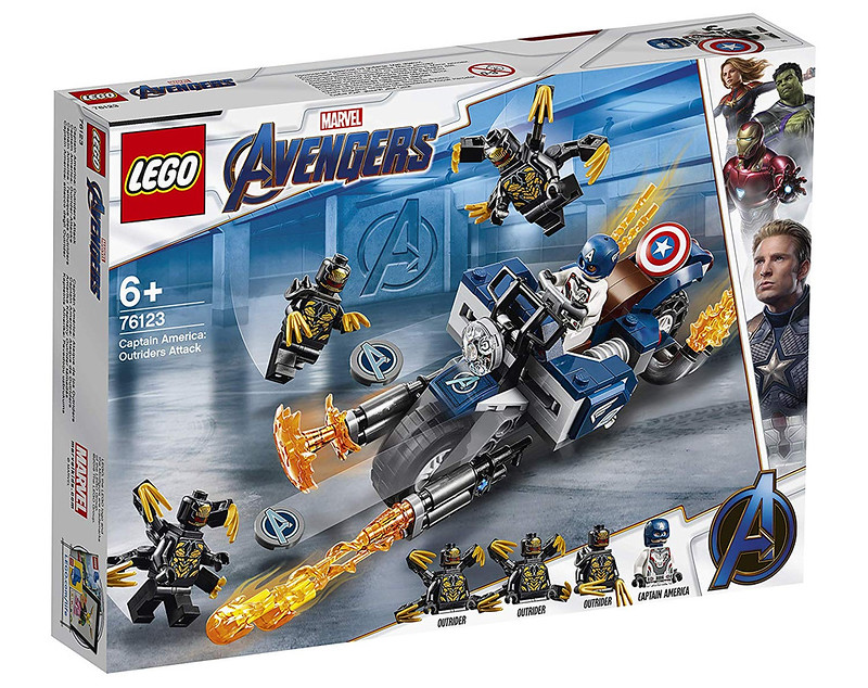 Captain America Outrider Attack (76123)