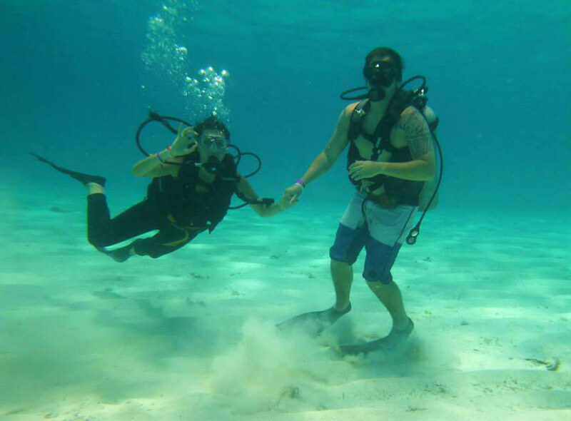 San Andres buceo