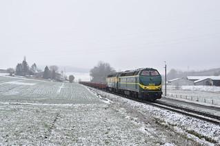 31-01-2019 TUC RAIL 5528 + 5540 + Res'en, Ripain
