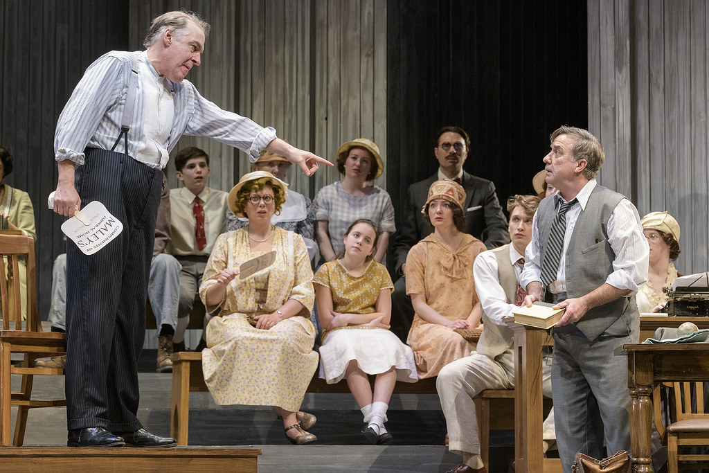 "Delaware's Resident Ensemble Players shine in ""Inherit the Wind"""