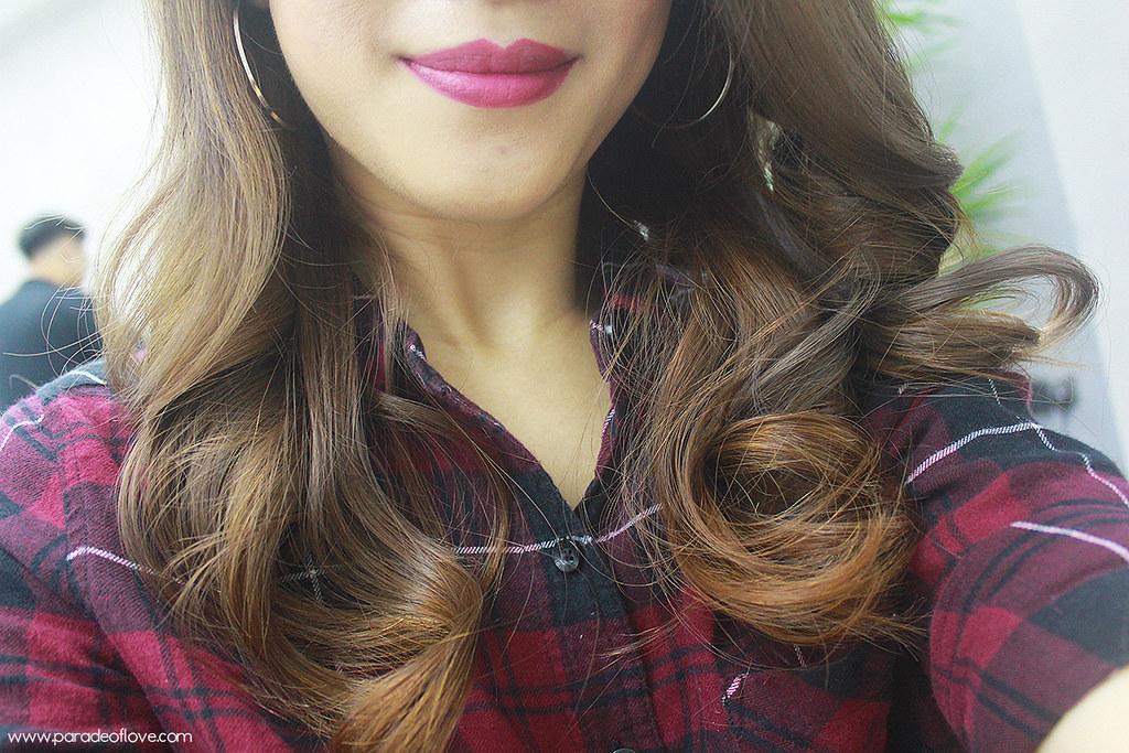 Healthy hair after Tokio Inkarami treatment