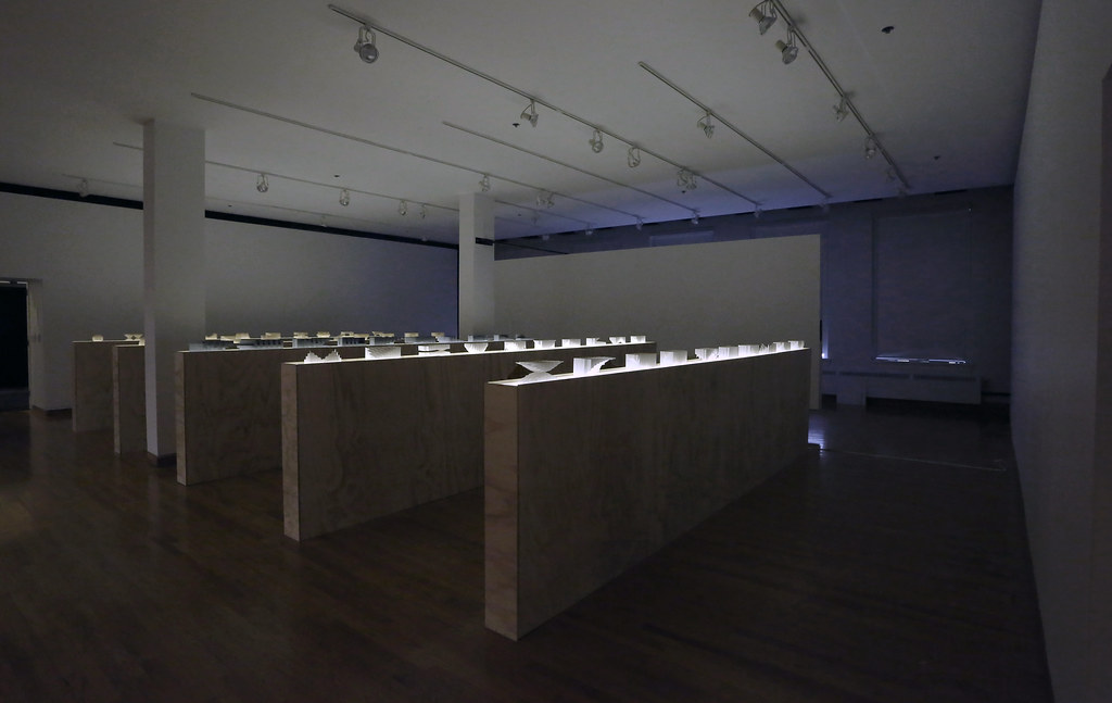 The Labics exhibition <em>Structures</em>, in John Hartell Gallery.