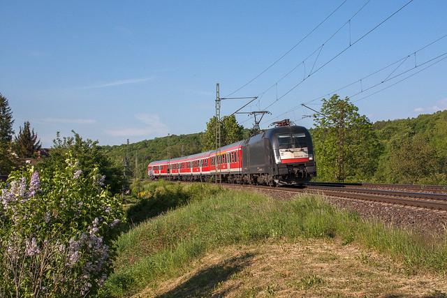 ES 64 U2-026 MRCE Dispolok GmbH/ DB Regio AG | Bad Kösen / OT Saaleck | Mai 2015