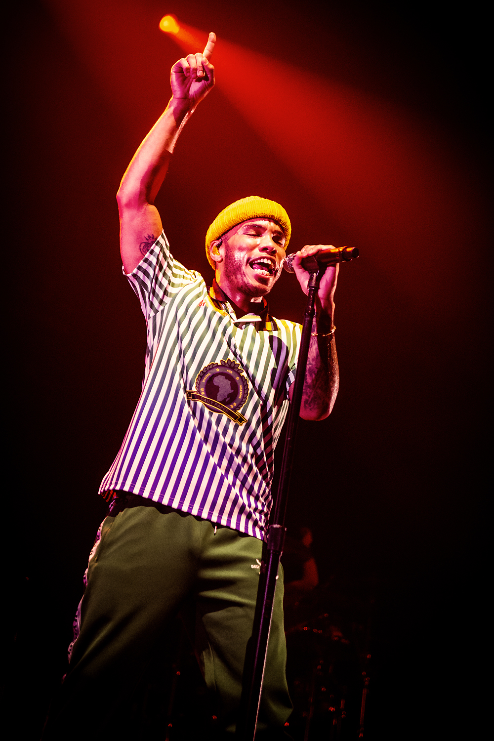 Anderson .Paak & The Free Nationals @ Lotto Arena Antwerpen 2019 (Jan Van den Bulck)