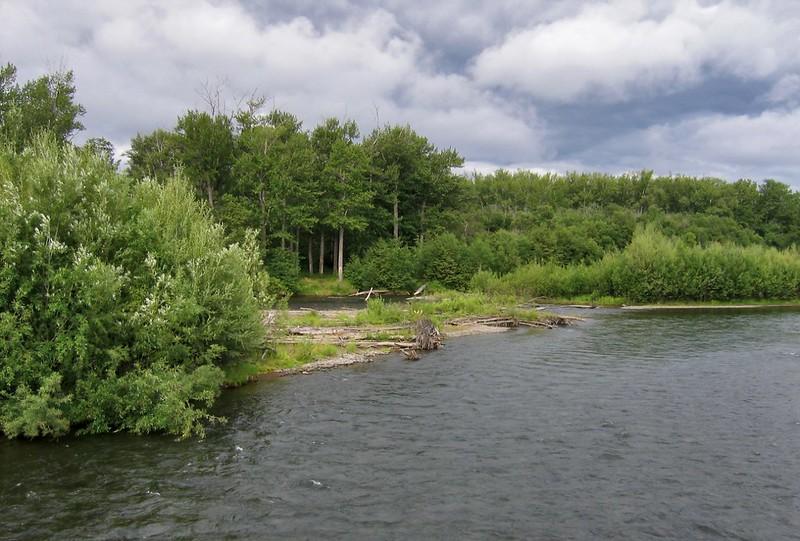 Река Быстрая на Камчатке
