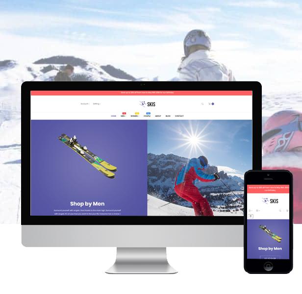 Ap Skis Prestashop Skateboard Themes - ski & snowboarding industry