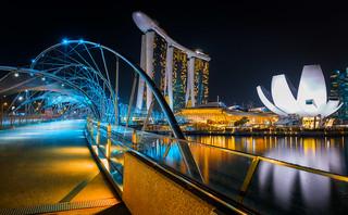 The Helix Bridge | Singapore