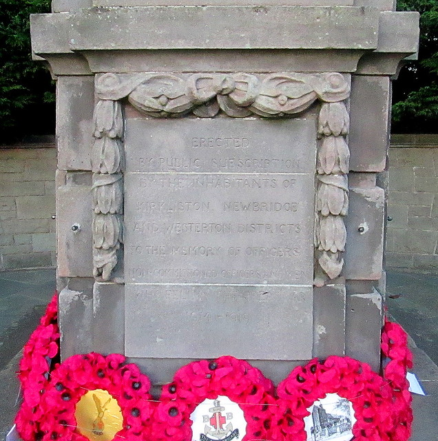 Kirkliston War Memorial Dedication