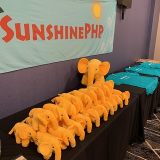 Lots of #SunPHP19 elephpants! | by akrabat