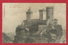 L' Ariege. Foix Castle. Postcard dated 1909. - Photo of Foix