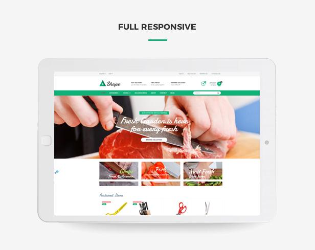 Ap Sharp Responsive Prestashop Tool Theme - Fully responsive