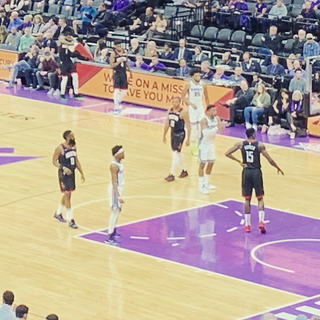 2019 Kings versus Rockets