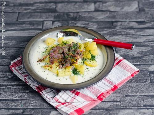 Buttermilch-Kartoffelsuppe (2)