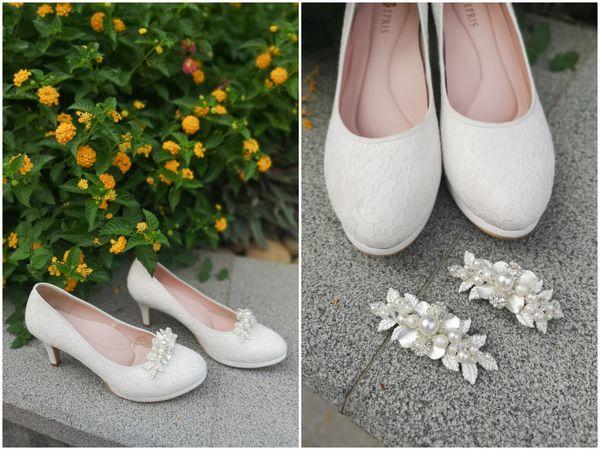 婚鞋飾扣夾
