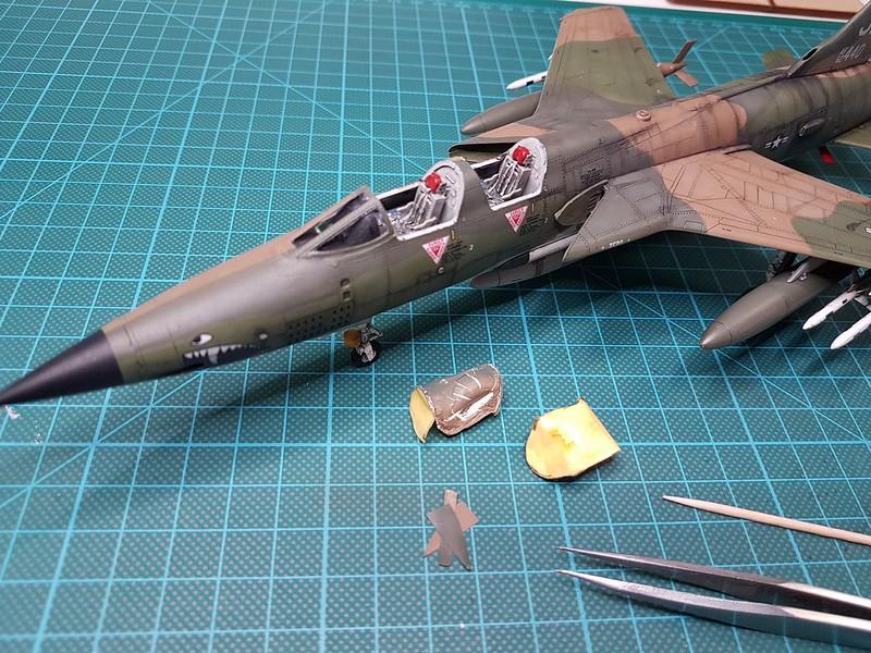Trumpeter 1/72 F-105G Wild Weasel - Sida 7 40431011173_735143d86e_c