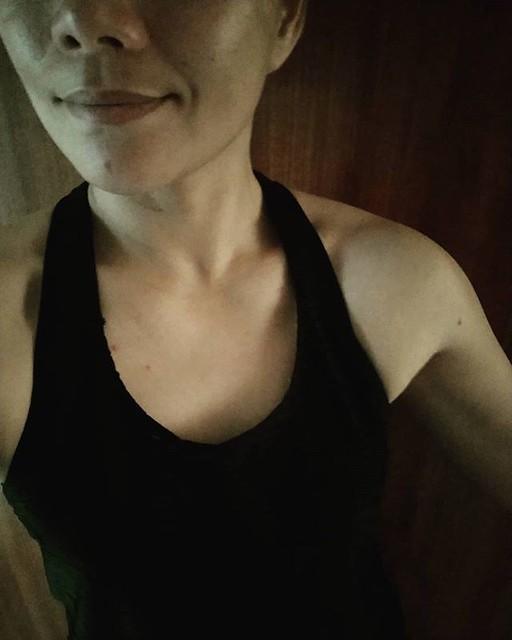 20190318 第803堂課 壺鈴 #有運動沒在怕的 #運動使人開心 #40歲以後找回自己 #2019讓自己更健康 #喜歡自己拍自己 #不自拍就會默默變胖