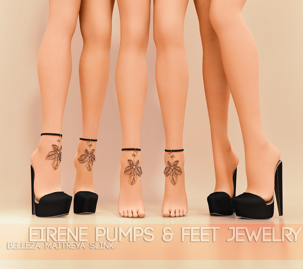 Pure Poison - Eirene Pumps and Feet Jewelry AD - TeleportHub.com Live!