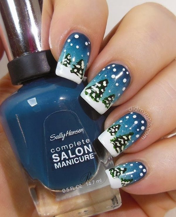 10 Winter Nail Art Ideas Cooler Than The Weather Hairstyles 2u