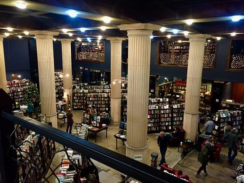 The last Bookstore bank columns