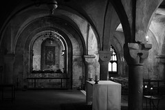 Crypt, Canterbury Cathedral