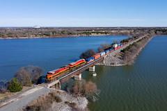 KCS 4858 - Lake Lavon, Texas