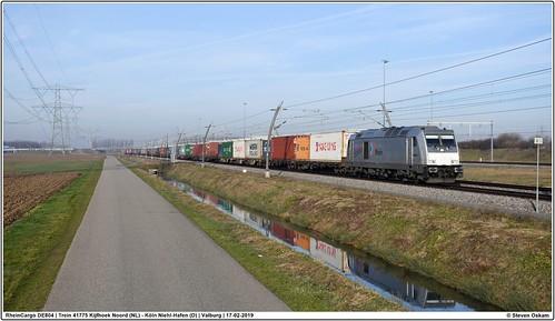 RheinCargo DE804 | Valburg | 17-02-2019