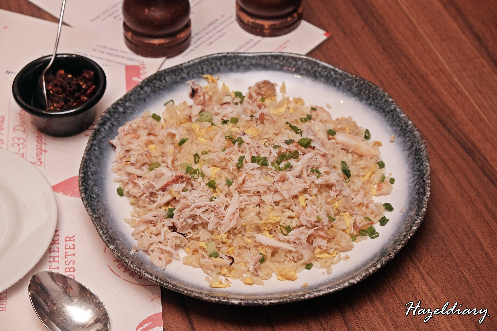 Pince & Pints Duxton Road-Crab meat fried rice