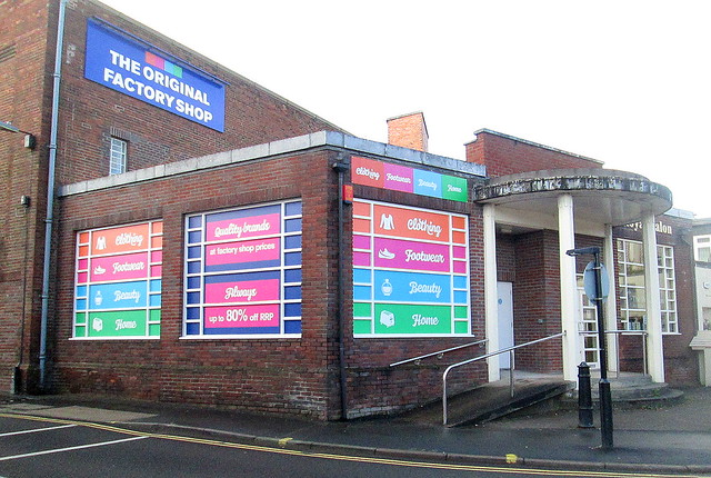 Reverse View, Former Regal Cinema, Oswestry