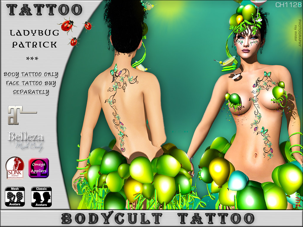 BodyCult Tattoo Ladybug Patrick by TWE12 Event