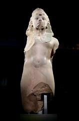 Colosse en quartzile de Toutânkhamon, usurpé par Aÿ et Horemheb, 1336-1326 av. J.-C.