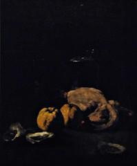 13 - Courbevoie - Musée Roybet Fould - Théodule Ribot, L'esprit et la chère - Nature morte, Vers 1870-1880, Huile sur toile