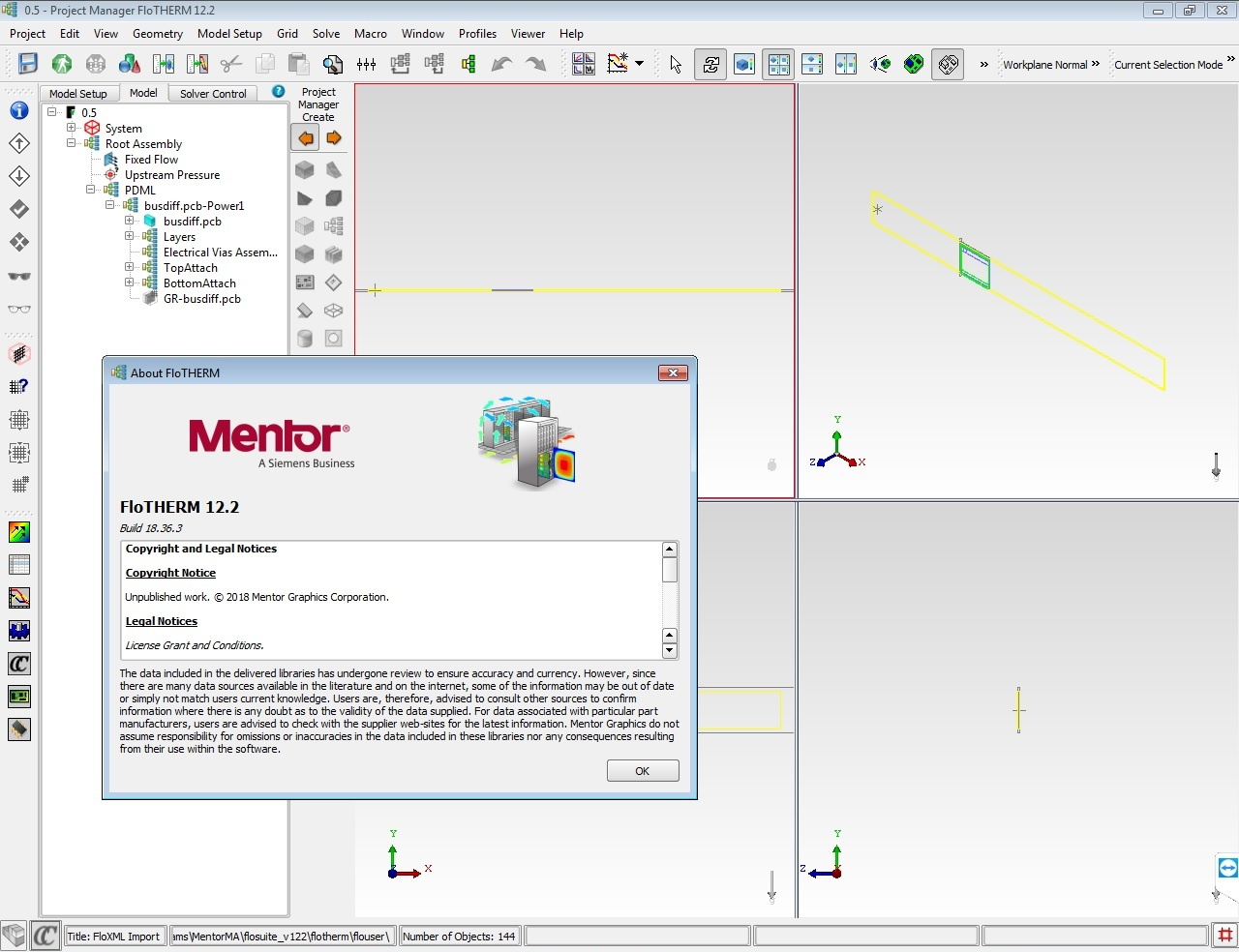 Working with Mentor Graphics FloTHERM Suite 12.2 full
