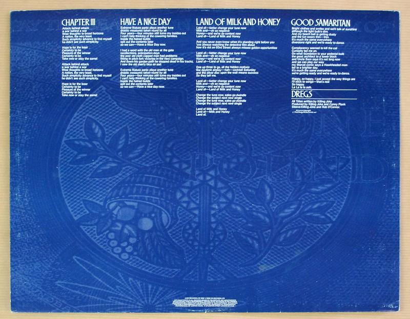 """KILLING JOKE REVELATIONS 12"""" LP VINYL"""