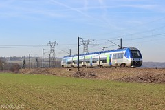 Z27595/96 - AGC - Train n°766720 Caen > Achères-Triage