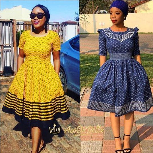 Shweshwe Dresses Patterns 2019