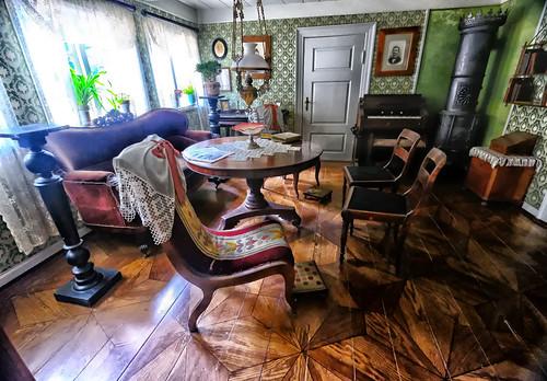 Danish Farmhouse Living Room