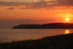 Sonnenuntergang am Cap - Photo of Saint-Pierre-d'Arthéglise