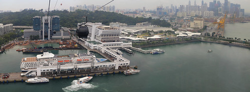 Soar through the sky on the most scenic highway in Singapore
