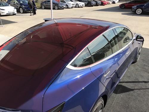 Entrega del Tesla Model 3