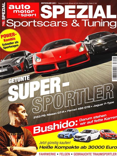 auto motor sport Spezial - Sportscars & Tuning 1/2018