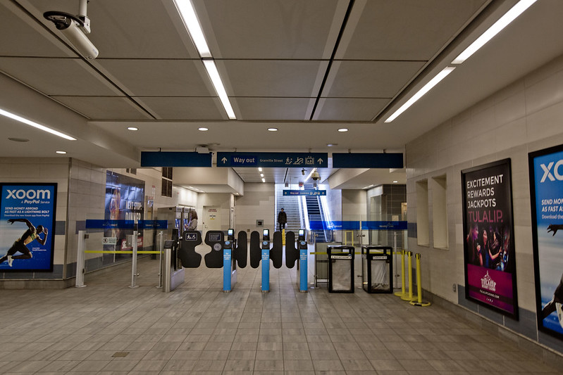 Waterfront Canada Line Station