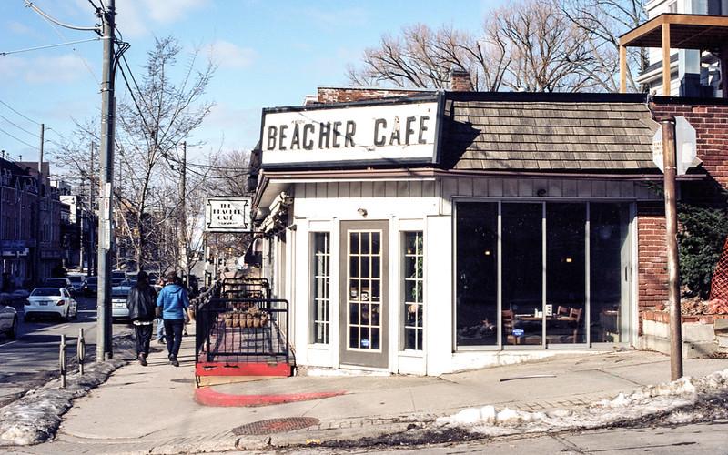 Beacher Cafe in the Morning Sun
