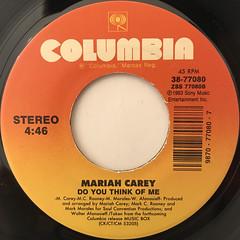 MARIAH CAREY:DREAMLOVER(LABEL SIDE-B)