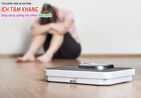 Nếu đã mắc suy tim người bệnh cần phải kiểm soát cân nặng của mình